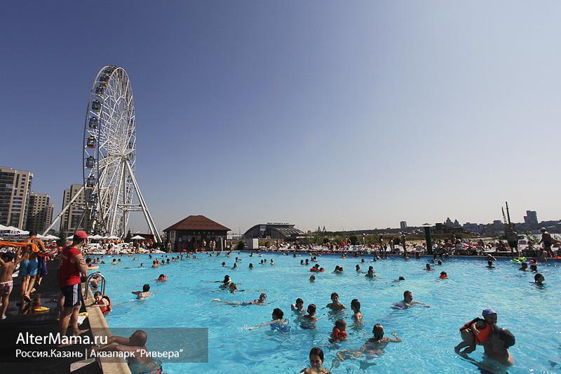 Аквапарк Ривьера в Казани все подробности для посетителей