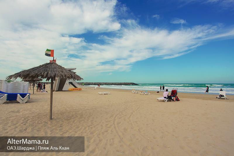 Бесплатные пляжи в Шардже на карте
