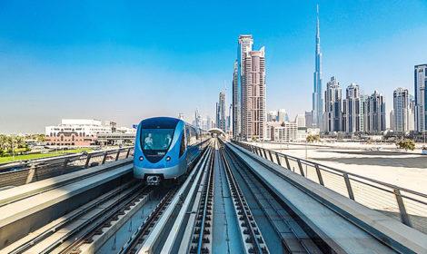 Все о метро Дубая на русском языке