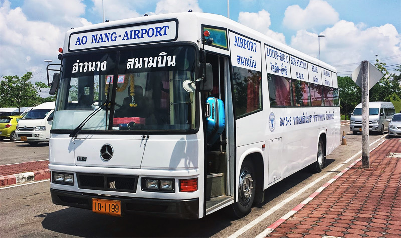Как добраться из аэропорта Краби до Ао Нанг