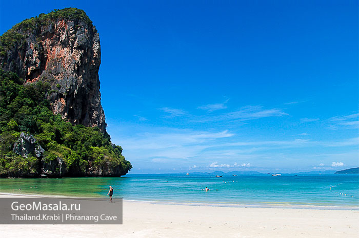 Пляж Railay West