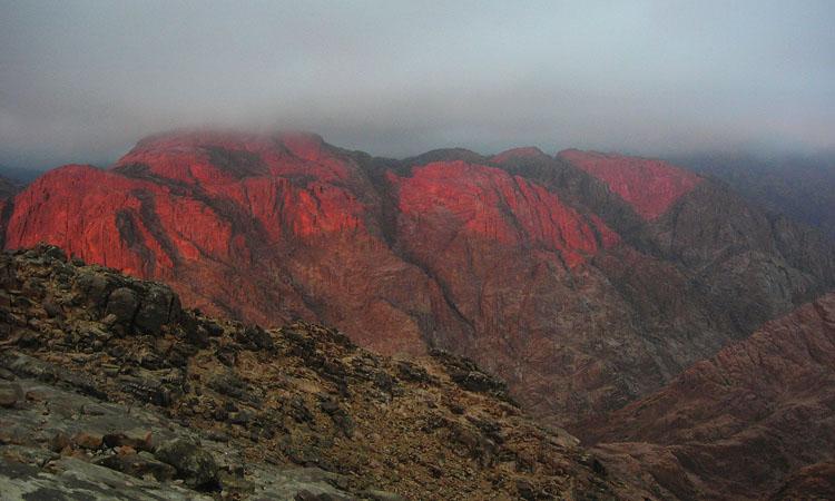 Гора Моисея Египет. Восхождение на гору Моисея.