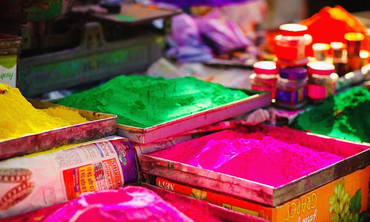 Холи фестиваль в Индии. Фотоотчет с индийского праздника Холи в Джайпуре.