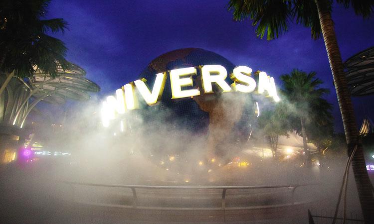 Юниверсал Студио Сингапур. Парк развлечений Universal на Сентозе.