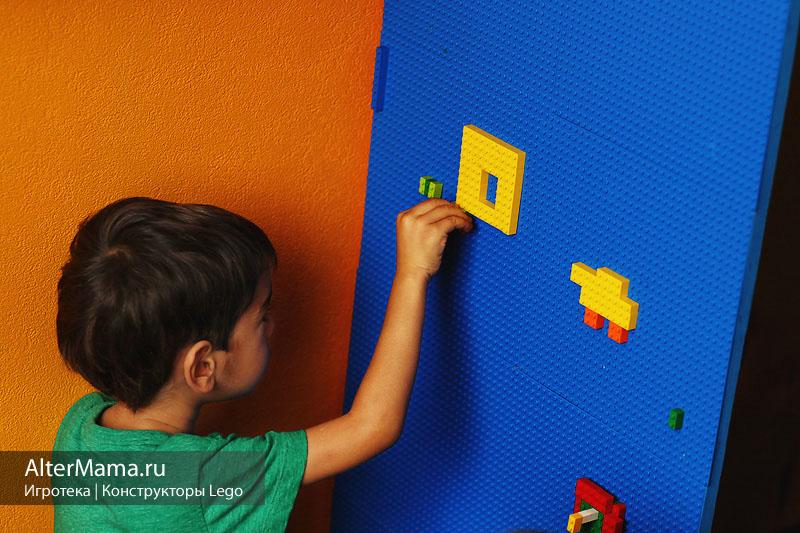 Строительные игры и пазлы Lego