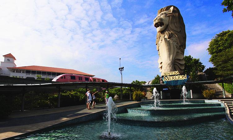 Что посетить на Сентозе за 1 день. Сингапур Сентоза что посмотреть готовые маршруты.