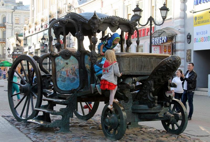 Куда пойти с детьми в Казани