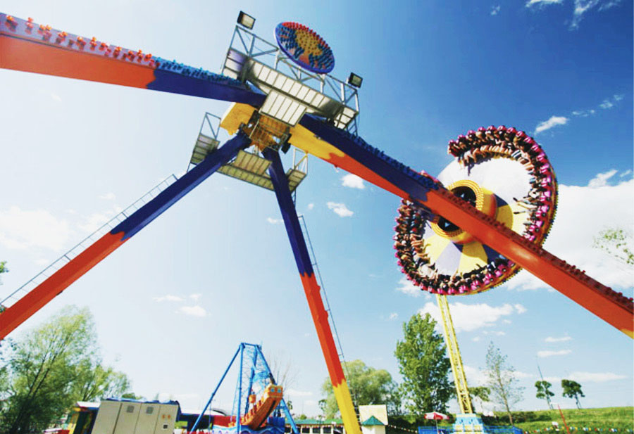 Детский парк развлечений Кырлай в Казани