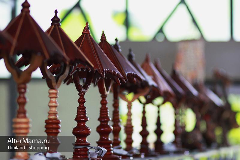 Тайские изделия из дерева