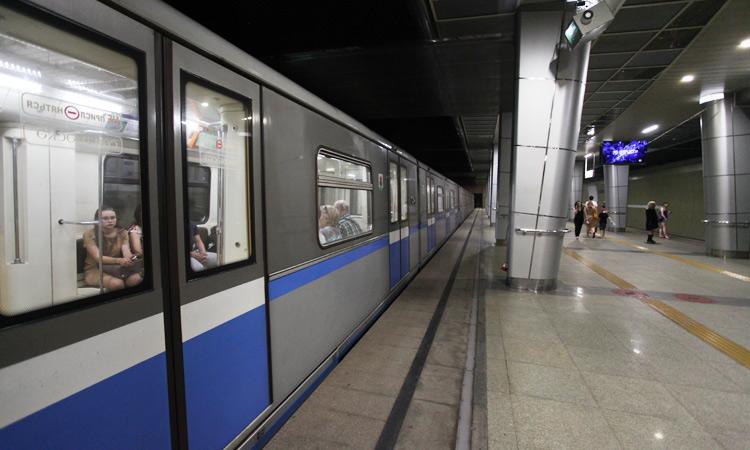 Схема метро Казани на карте города со всеми станциями.
