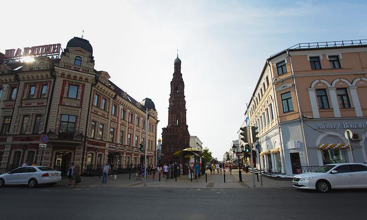 богоявленская колокольня в Казани смотровая площадка