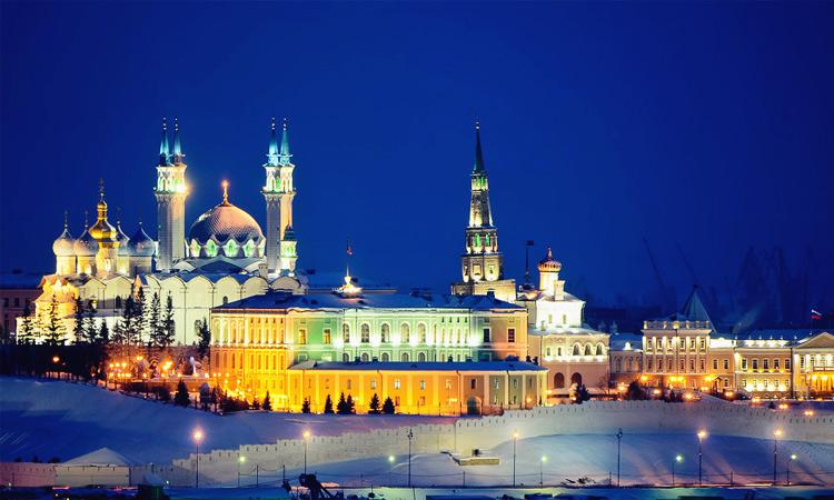 Едем Казань с детьми зимой