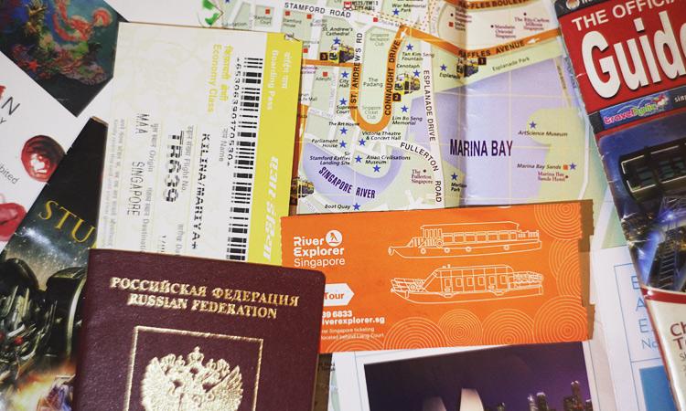 Транзитная виза в Сингапур в аэропорту Чанги