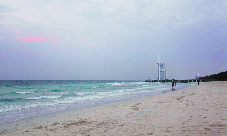 Пляж Аль Суфух Дубай