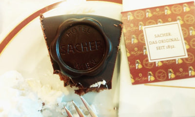 Кафе Захер в Вене фото и отзыв