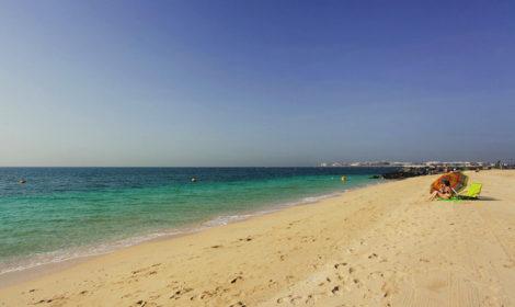Пляж Сансет в Дубае фото и отзыв