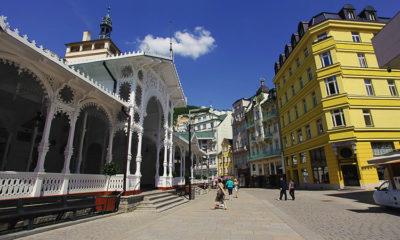 Рыночная колоннада Карловы Вары источники