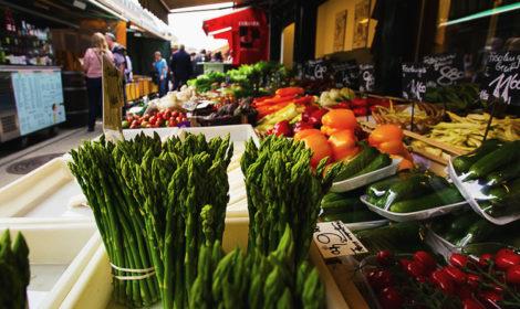 Рынок Нашмаркт в Вене