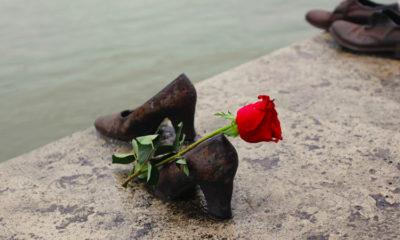 Будапешт туфли на набережной Дуная Венгрия — отзыв с фото, история
