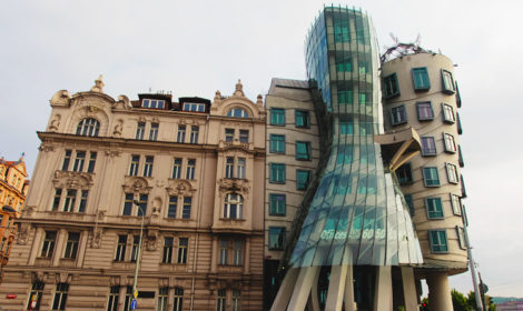 Танцующий дом Прага фото и история