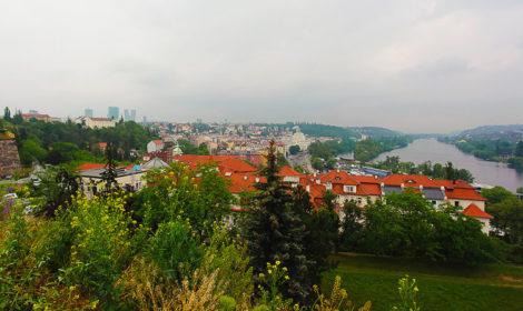 Самые высокие и бесплатные смотровые площадки в Праге