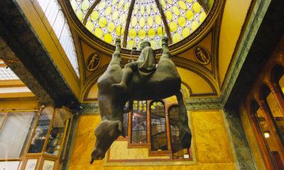 Перевернутый конь в Праге отзыв с фото