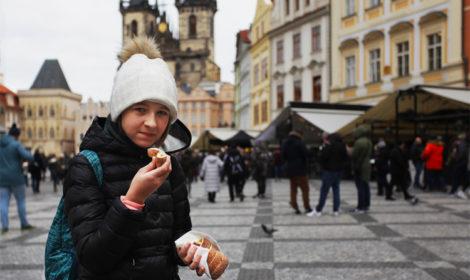 Уличная еда Праги фото и цены