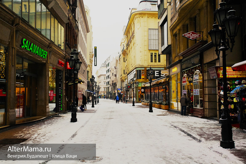 Будапешт Ваци улица