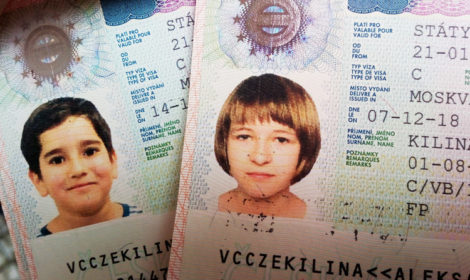 Виза в Чехию ребенку пакет документов