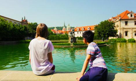 Вальдштейнский сад в Праге отзыв с фото