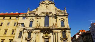 Прага церковь Святого Николая на Малостранской площади