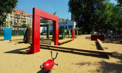 Прага детские площадки на карте с фото