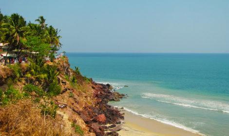 Варкала штат Керала Индия фото и отзыв об отдыхе дикарем