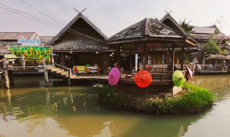 Как мы ездили на плавучий рынок в Паттайе фото и отзыв