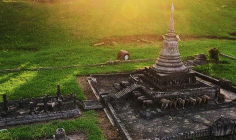 История парка Мини Сиам в Паттайе и фото памятников
