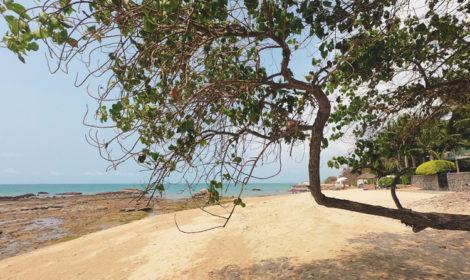 Пляж Наклуа в Паттайе на карте