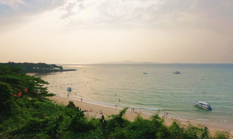Семейный пляж Кози бич в Таиланде: фото туристов