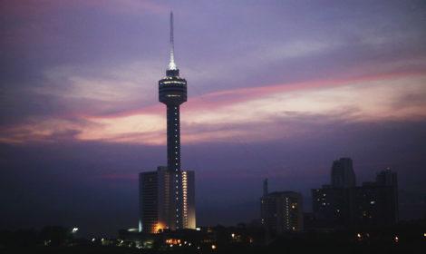 Башня Паттайя парк в Таиланде