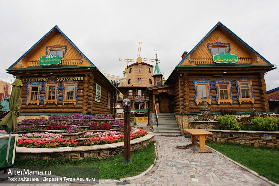 Улица Петербургская в Казани на карте