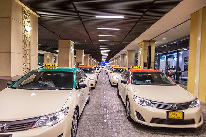 такси дубай из аэропорта