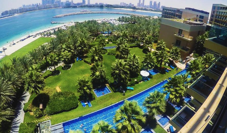 ОАЭ Дубай отели с собственным пляжем