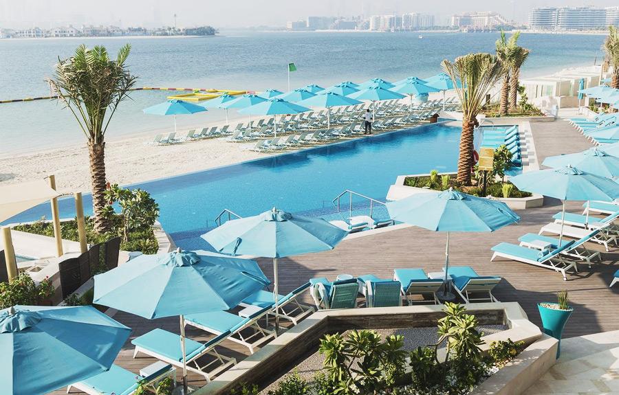 Рейтинг отелей Дубая с собственным пляжем