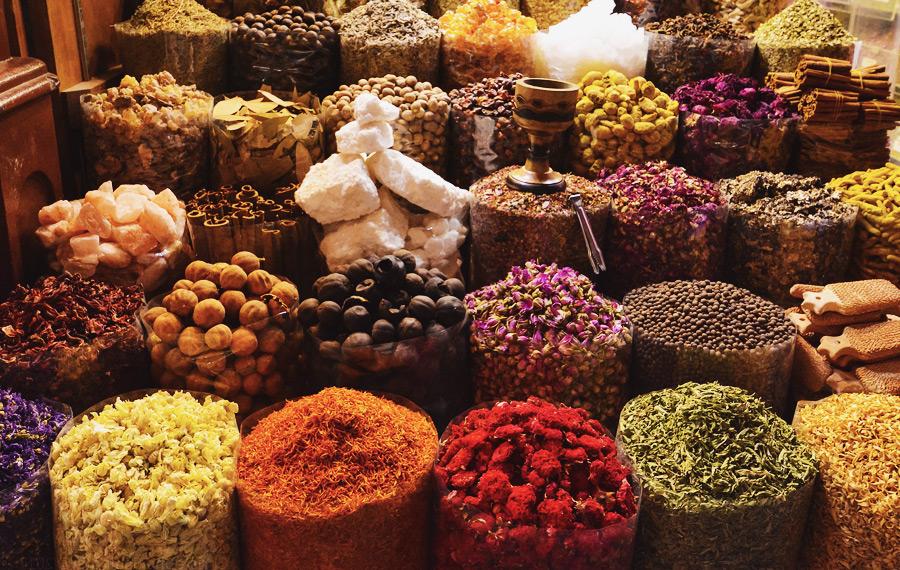 Лучшие рынки Дубая и рынок специй