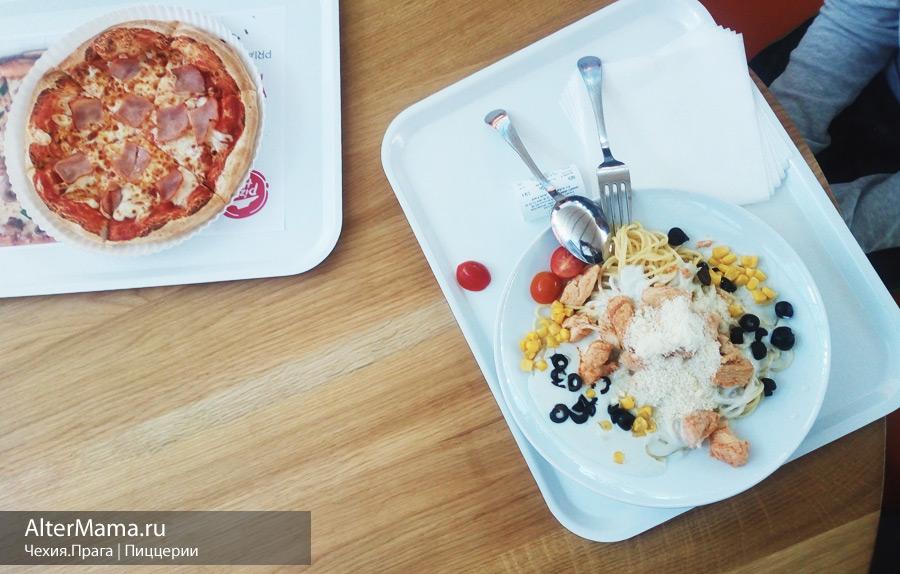 Хорошие пиццерии в Праге подборка