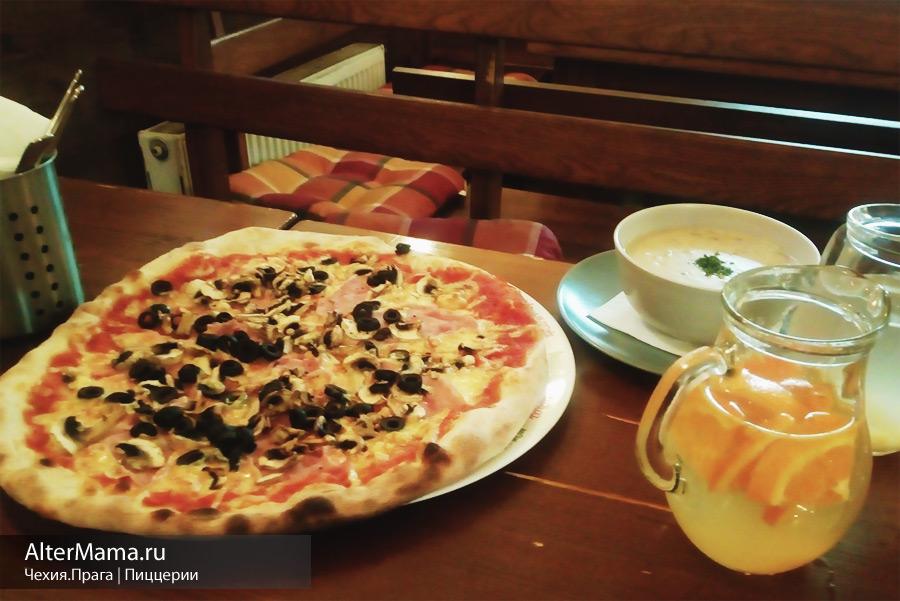 Честные отзывы про пиццерии в Праге