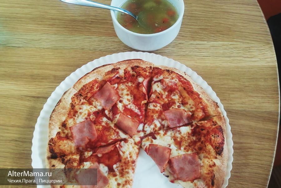 Где заказать пиццу в Праге