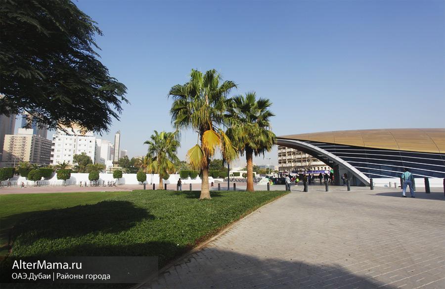 В каком районе Дубая остановиться
