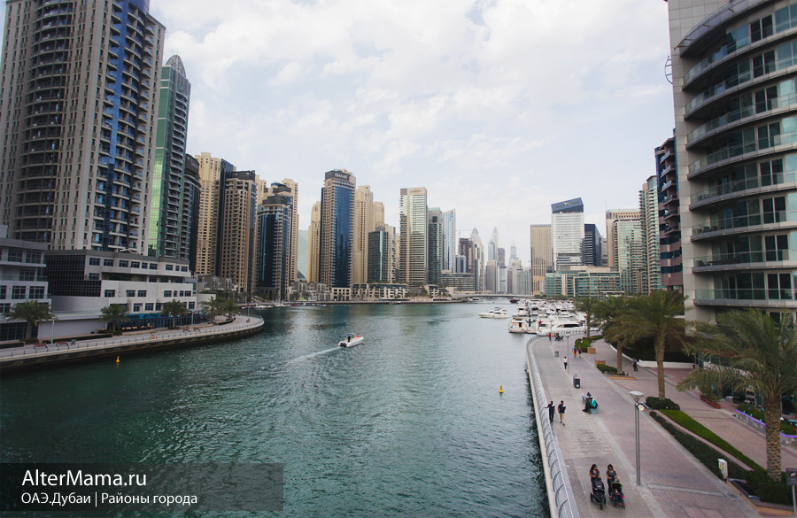 Дубай марина район фото и описание