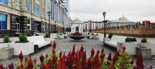 Улица Петербургская в Казани маршрут туристам