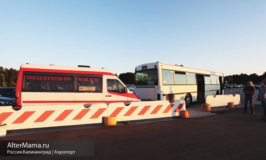 Расписание автобусов Калининград аэропорт Храброво